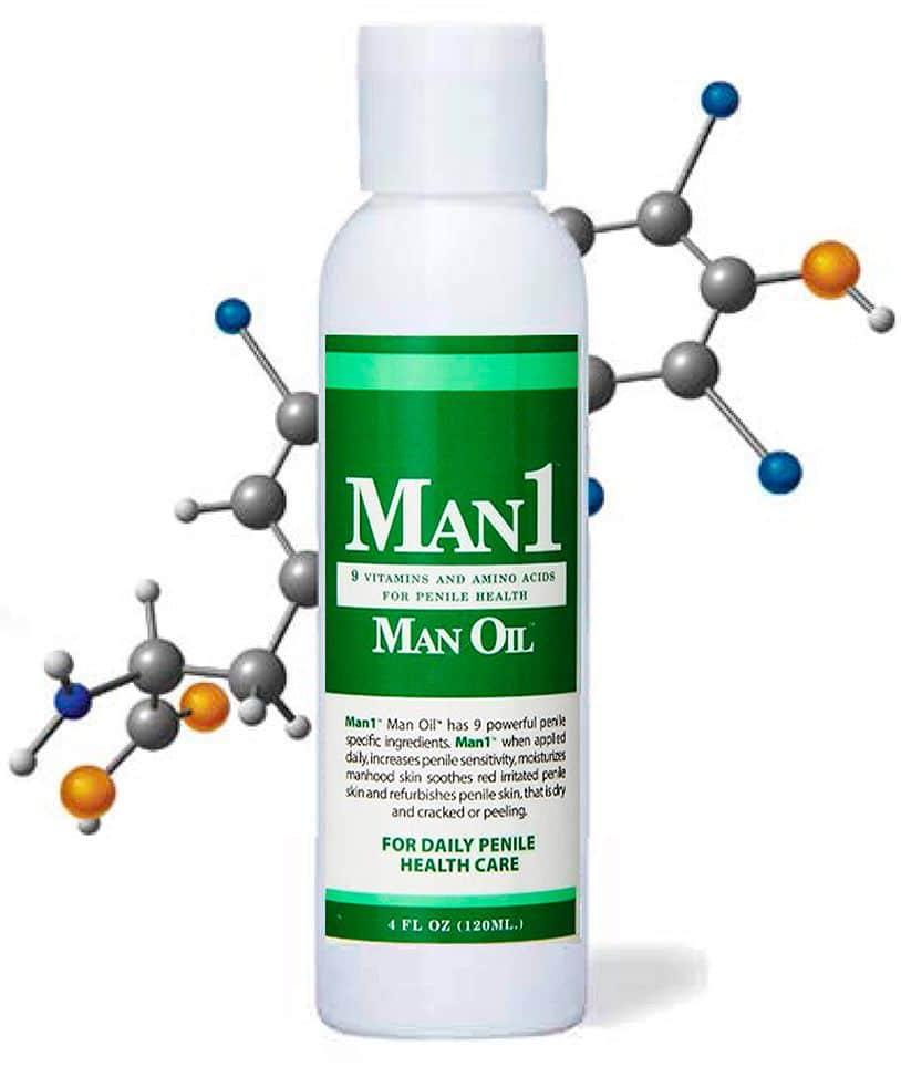 man1 man oil cream
