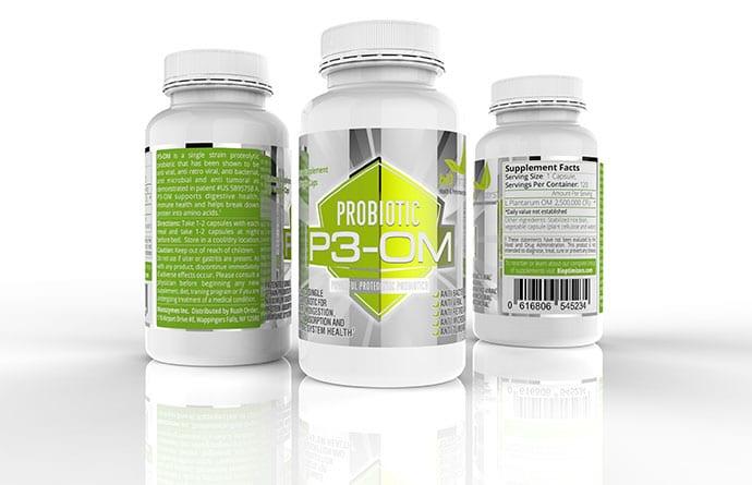 p3 om probiotics