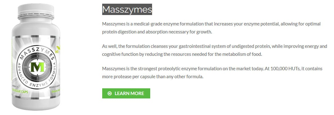 What is Masszymes